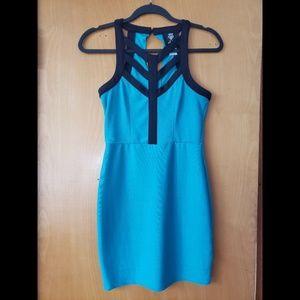 Teal DEB Dress